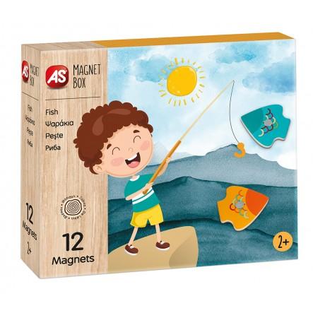 AS  Magnet Box  - Ψαράκια 1029-64040