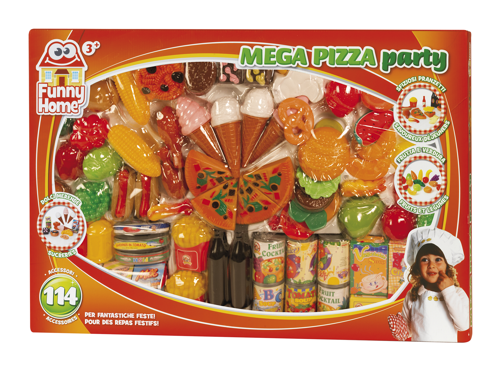 Funny Home Set Pizza