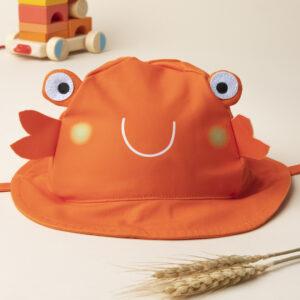 Καπέλο Καβουράκι Πορτοκαλί για Αγόρι