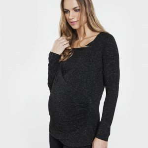 Γυναικεία Μπλούζα Θηλασμού με Lurex