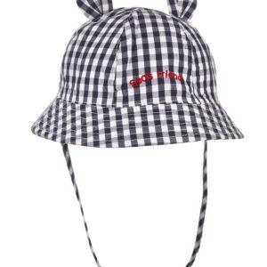 Καπέλο από Ποπλίνα Καρό για Αγόρι