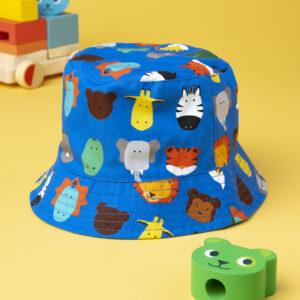 Καπέλο 2 Όψεων Animal για Αγόρι