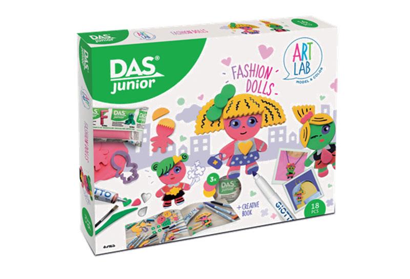 GIOTTO ART LAB Σετ Δημιουργίας Das Junior Art Lab Fashion Dolls 000348600