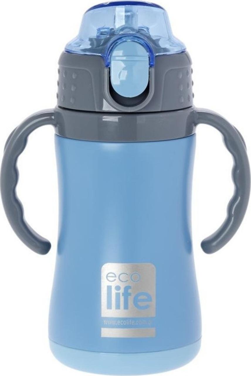 Ecolife Ανοξείδωτο Παγούρι Kids Thermos Small 300ml-Μπλε