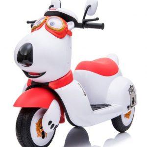 Scooter Σκυλάκι 12v Κόκκινο