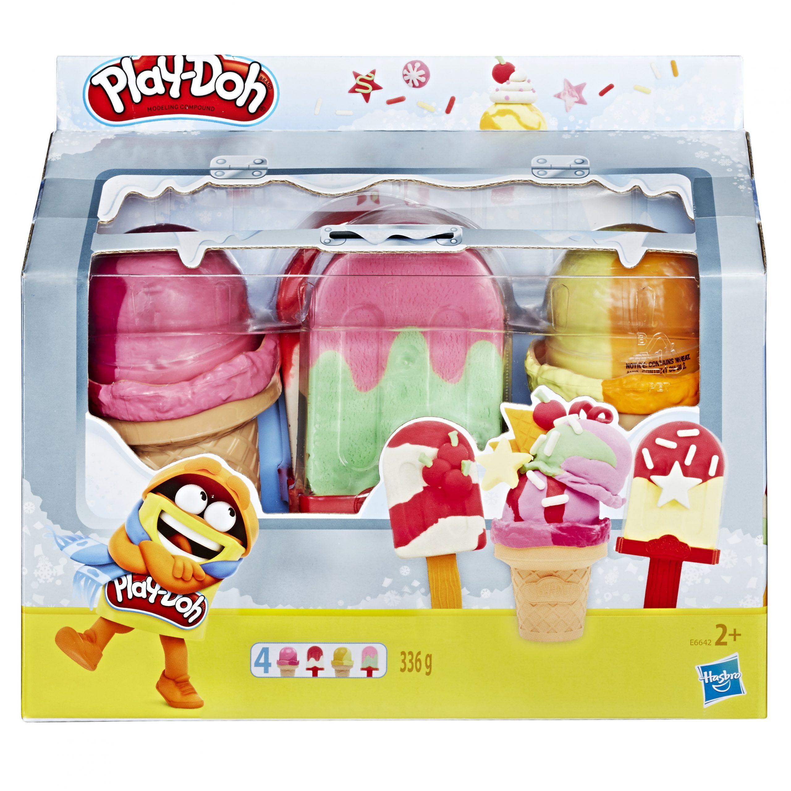 Play-doh Ice pops Cones Freezer E6642