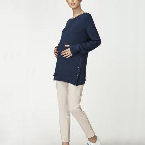 Γυναικείο Πουλόβερ με T-Shirt Θηλασμού