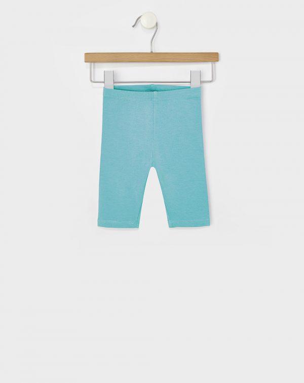 Κολάν Jersey Basic Ελαστικό 3/4 Γαλάζιο για Κορίτσι