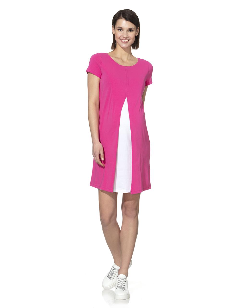 Γυναικείο Φόρεμα Θηλασμού Δίχρωμο