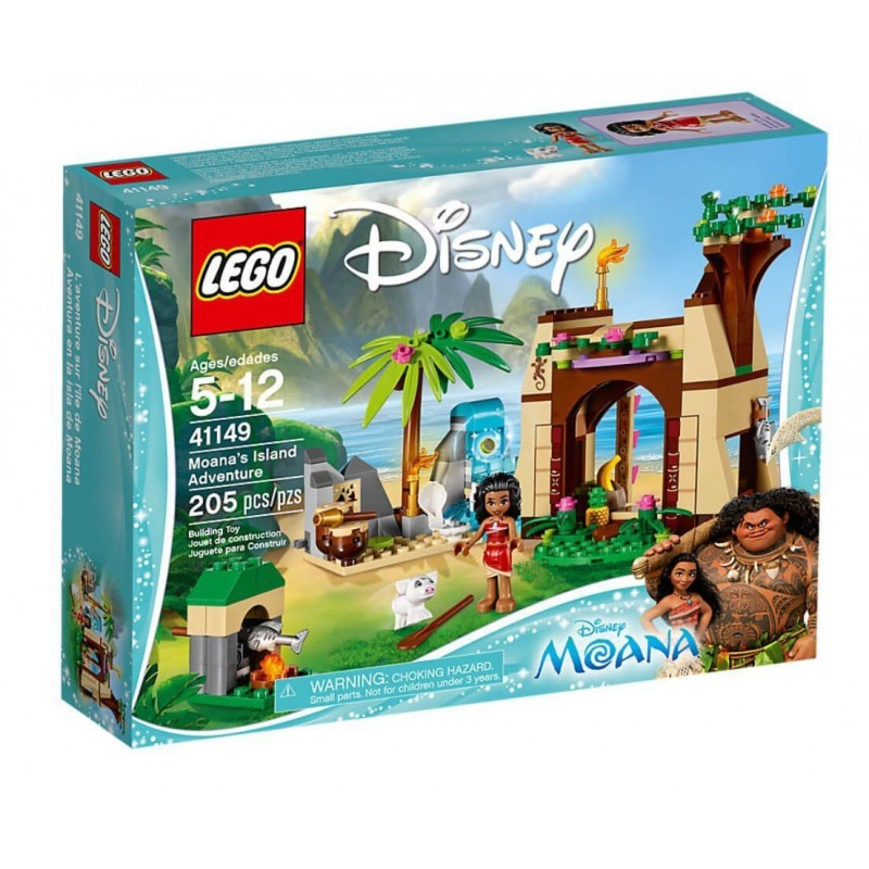 LEGO Disney Princess Η Περιπέτεια Της Βαϊάνα Στο Νησί 41149