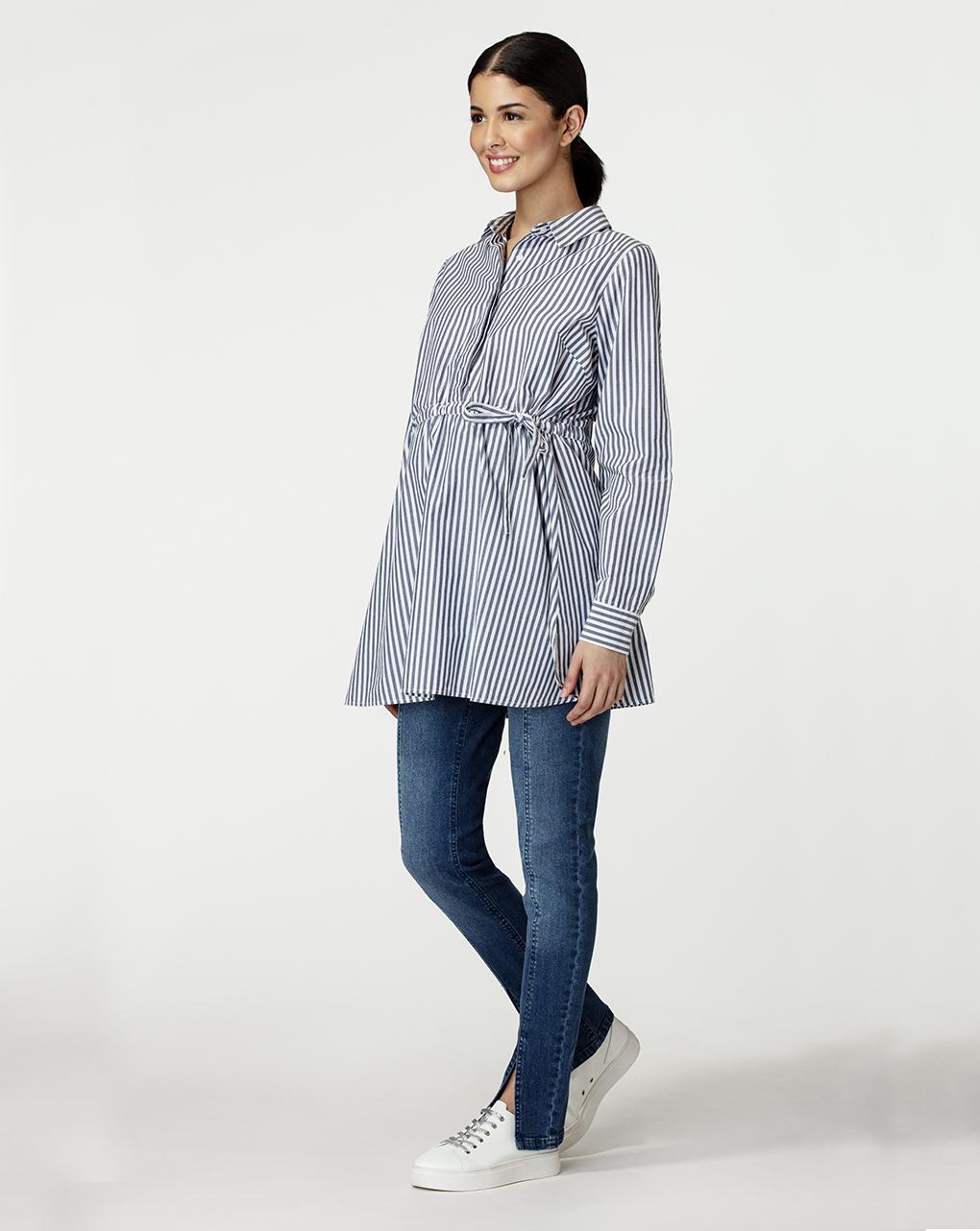 Γυναικεία Μπλούζα Ριγέ