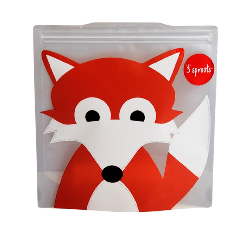 3Sprouts Θήκες Για Τα Σάντουιτς-Fox (2 Τμχ)