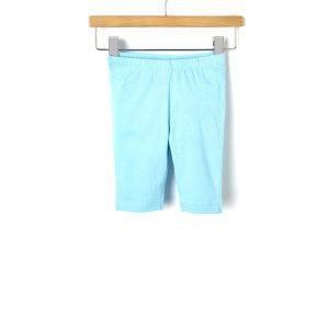 Κολάν Jersey 3/4 Basic Γαλάζιο για Κορίτσι