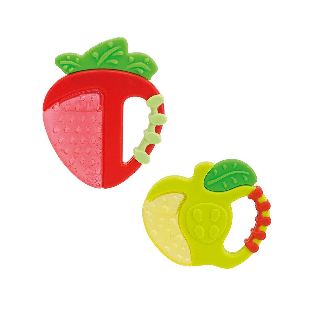 Chicco Κρίκος Οδοντοφυΐας Φράουλα και Μήλο