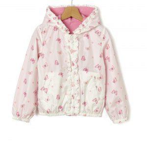 Μπουφάν Ελαφρύ Αποσπώμενη Επένδυση Basic Ροζ Μεγ.8-9/9-10 Ετών για Κορίτσι