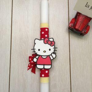 La joie Λαμπάδα  Hello Kitty Ξύλινη 5679