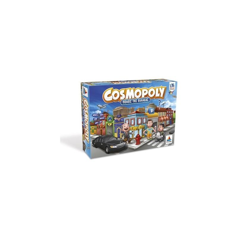 Desyllas Games Δεσύλλας Επιτραπέζια Οικογενειακά Cosmopoly (Πόλεις Της Ελλάδας) 100556