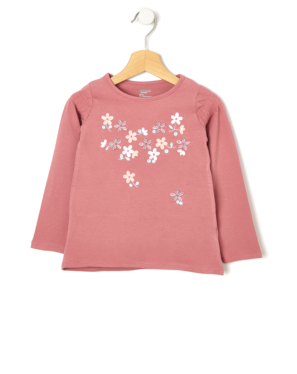 Μπλούζα με Λουλούδια για Κορίτσι