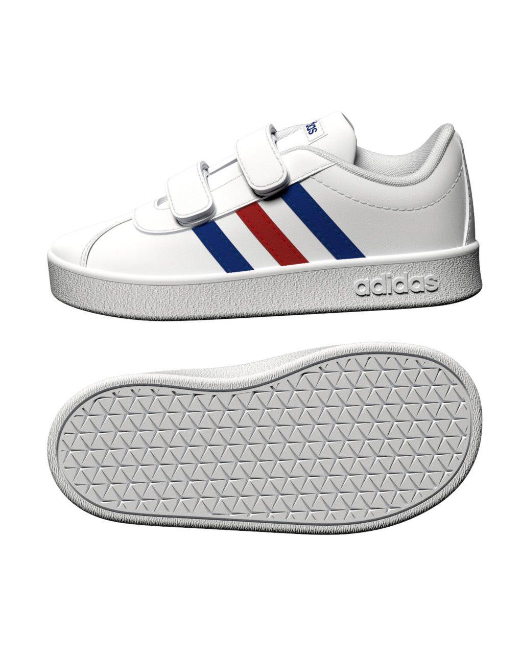 Αθλητικά Παπούτσια Adidas Vl Court 2.0 CMF I FY9275 για Αγόρι