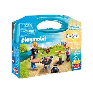Playmobil Family Fun Βαλιτσάκι Barbecue 5649