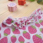 Αμάνικο Μπλουζάκι με Στάμπα Φράουλες για Κορίτσι