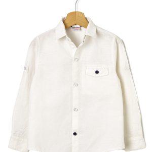 Πουκάμισο Λευκό για Αγόρι