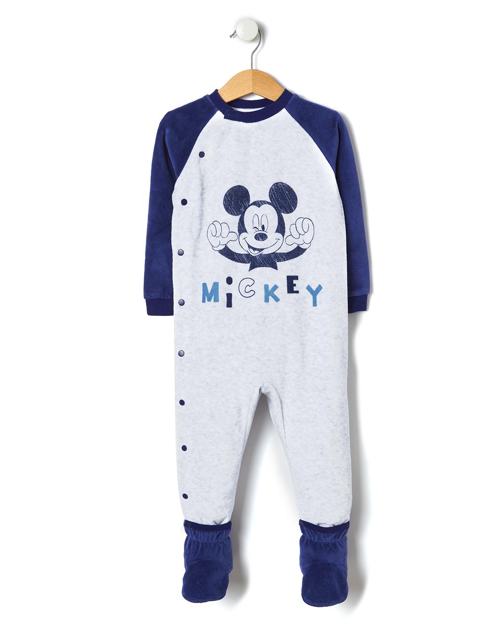 Πιτζαμάκι Σενίλ για Αγόρι με στάμπα Mickey Mouse