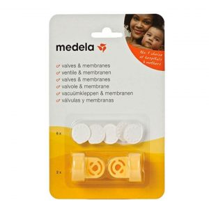 Medela Σετ Βαλβίδες & Μεμβράνες Θηλάστρων