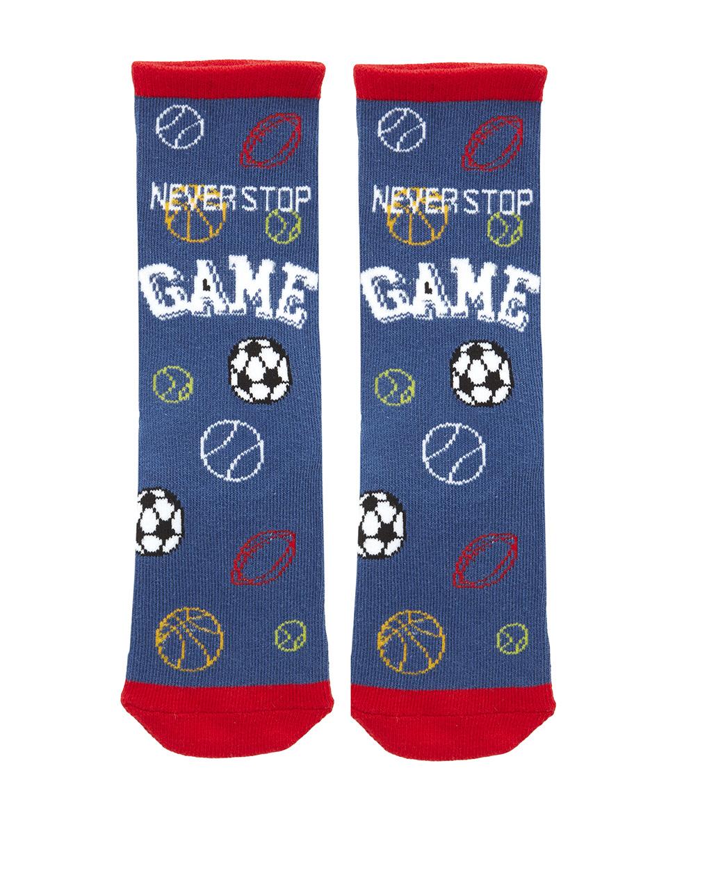 Κάλτσες Αντιολισθητικές Game για Αγόρι