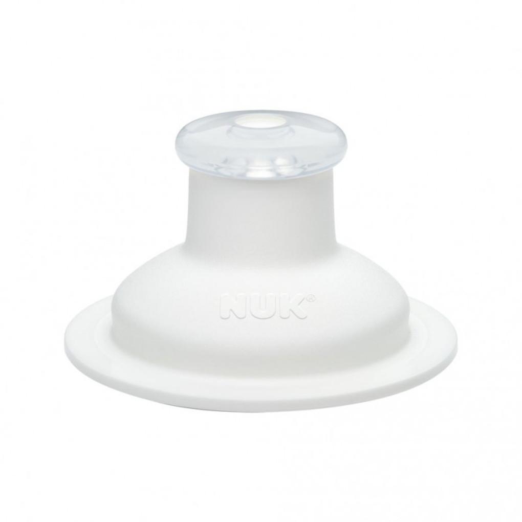 NUK Ανταλλακτικό Στόμιο Σιλικόνης Push Pull White