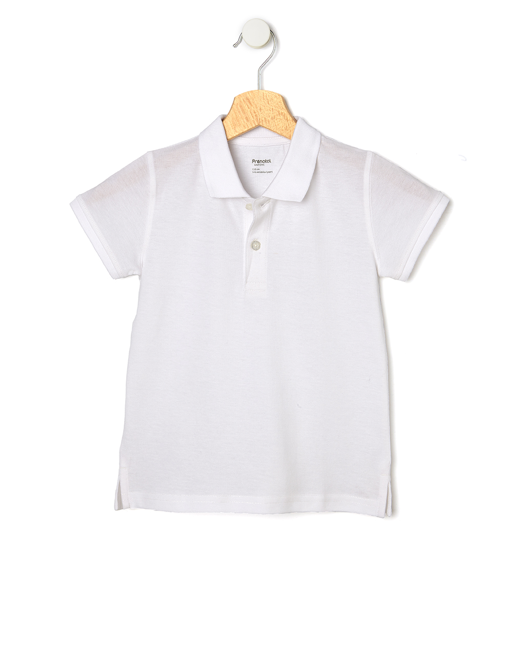 T-Shirt Πόλο Πικέ Λευκό Μεγ.8-9/9-10 ετών για Αγόρι