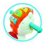 Baby Clementoni Βρεφικό Παιχνίδι Λάκης Αλογάκης (Μιλάει Ελληνικά) 1000-63710