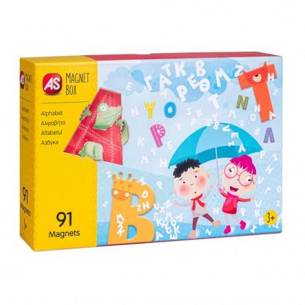 AS  Magnet Box - Αλφαβήτα (64033) 1029-64033