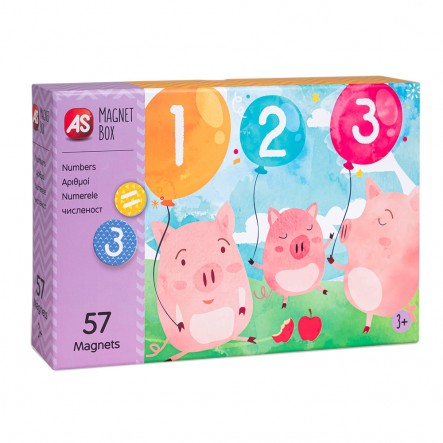 AS  Magnet Box  - Αριθμοί (64034) 1029-64034