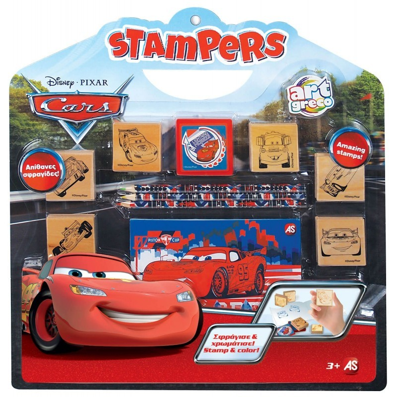 Σετ Σφραγίδες Stampers Disney Cars 1023-63023
