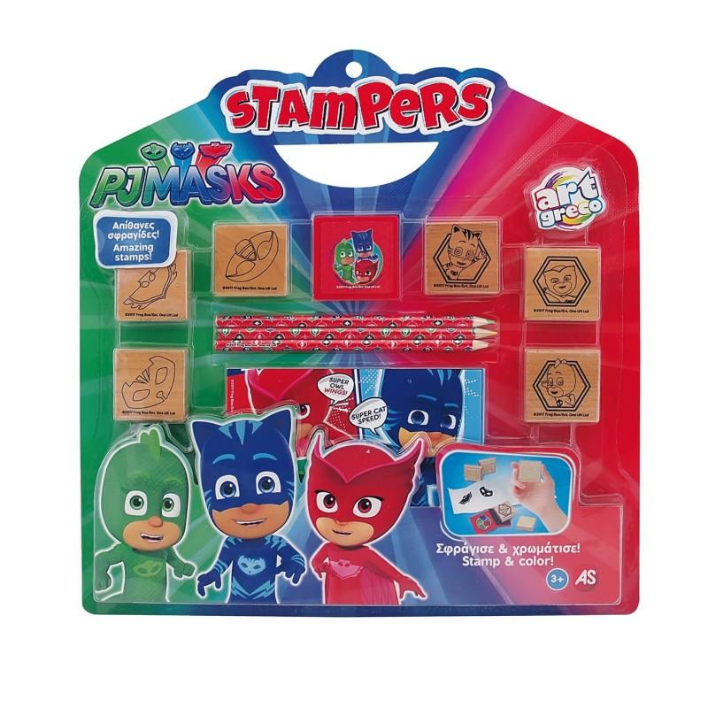 Σετ Σφραγίδες Stampers Pj Masks 1023-63028