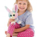 Nici Λαμπάδα με Λούτρινο  Rabbit Rainbow Candy 15cm 805-45561