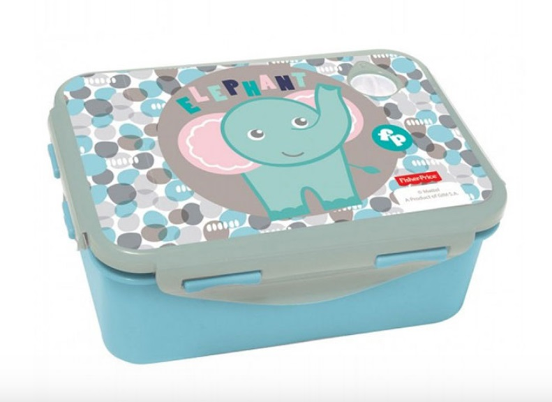 Gim Δοχείο Φαγητού (micro) Happy Elephant Fisher Price 571-49265