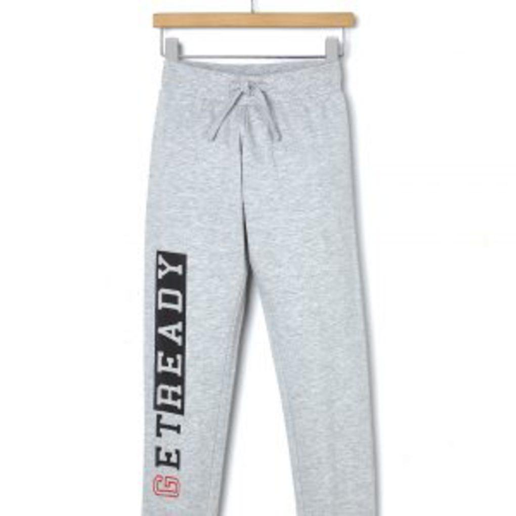 Παντελόνι Φόρμας Basic Με Στάμπα Heavy Jersey Μεγ.8-9/9-10 Ετών για Αγόρι