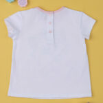 T-shirt Λευκό Minou για Κορίτσι