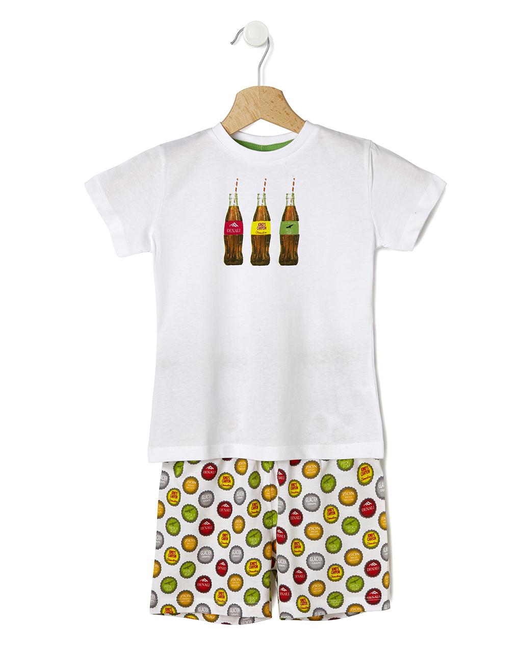 Πιτζάμα Jersey με Μπουκάλια για Αγόρι