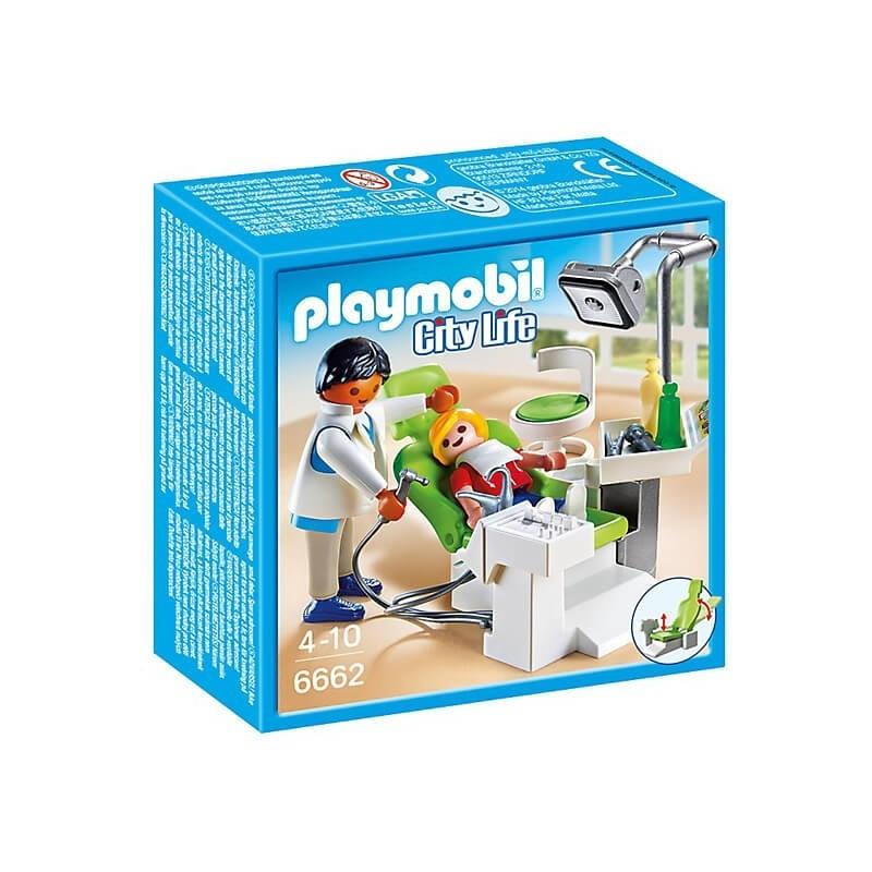 Playmobil City Life Παιδοδοντίατρος με παιδάκι 6662