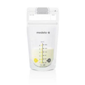 Medela Breast Milk Storage Bags Σακουλάκια Φύλαξης Μητρικού Γάλακτος, 25 τεμ.