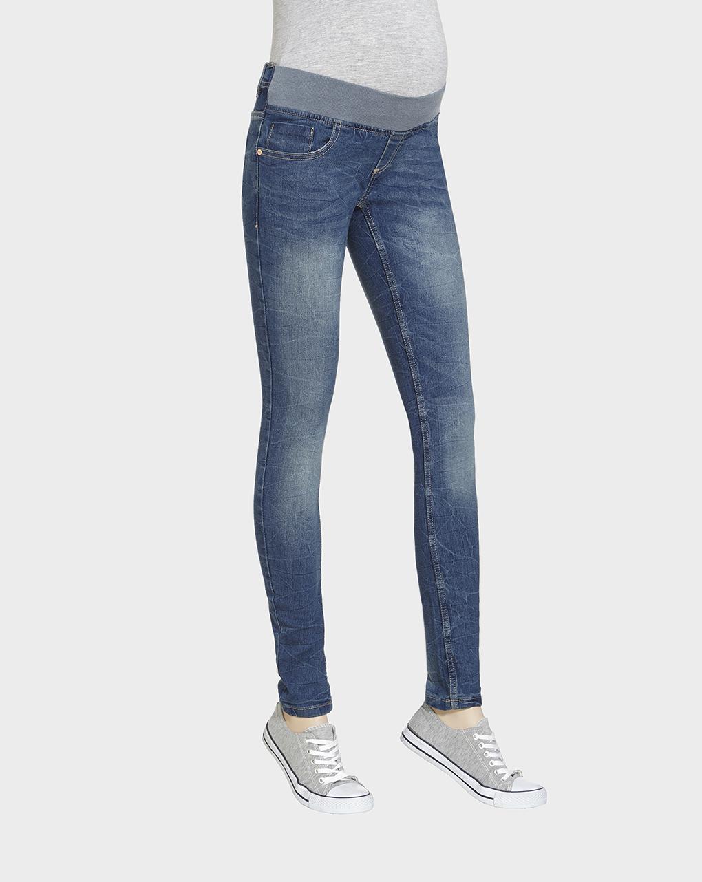 Γυναικείο Παντελόνι Denim Skinny Fit Μπλε
