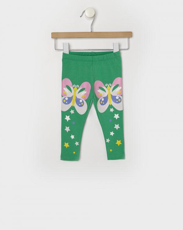 Κολάν Πράσινο με Πεταλούδες για Κορίτσι