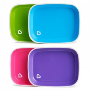 Munchkin Αντιολισθητικά Πιάτα Splash Plates 2τμχ