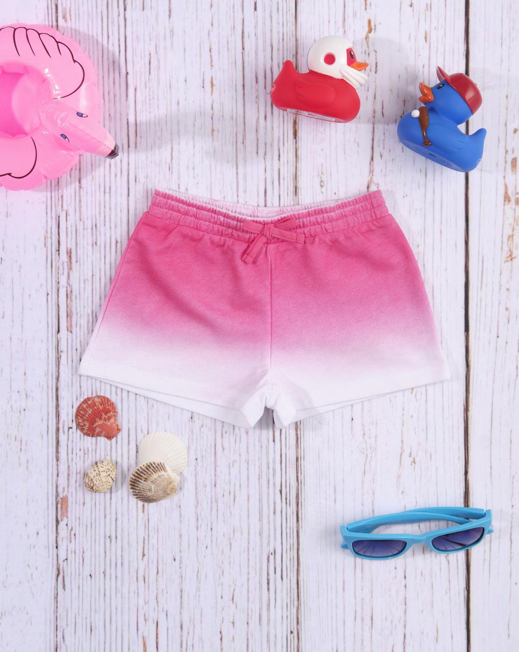 Σορτσάκι Jersey Ροζ Σκιασμένο για Κορίτσι