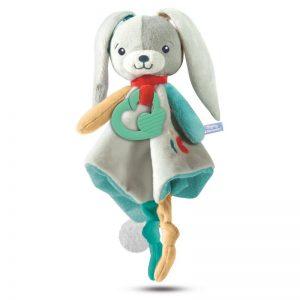 Baby Clementoni Sweet Bunny Βρεφικό Μαλακό Χνουδωτό Λαγουδάκι 1000-17272