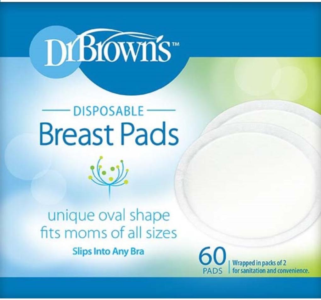 Dr Brown's Επιθέματα Στήθους Μίας Χρήσης (60 τεμ.)