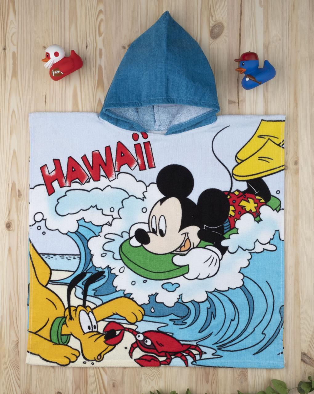 Mπουρνούζι -Πόντσο Mickey Mouse για Αγόρι